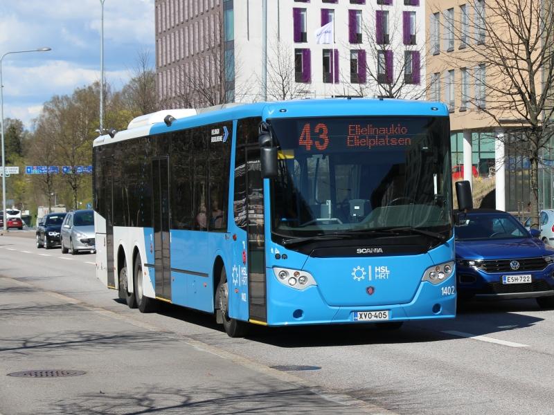 Helsingin bussiliikenne palaute